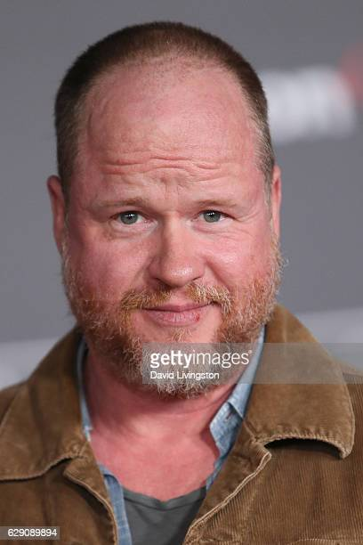 Screenwriter Joss Whedon arrives at the premiere of Walt Disney Pictures and Lucasfilm's 'Rogue One A Star Wars Story' at the Pantages Theatre on...