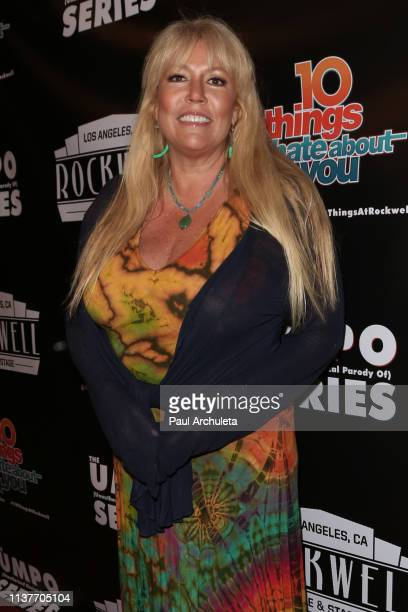 Screenwriter Karen McCullah attends the unauthorized musical parody of '10 Things I Hate About You' at Rockwell Table and Stage on March 22 2019 in...