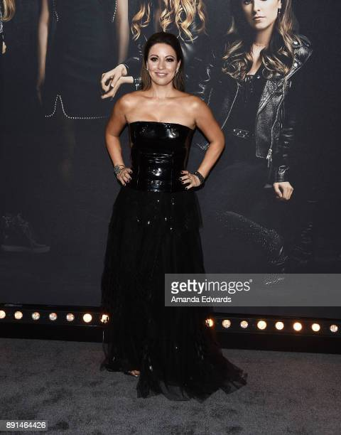 Screenwriter Kay Cannon arrives at the premiere of Universal Pictures' 'Pitch Perfect 3' on December 12 2017 in Hollywood California
