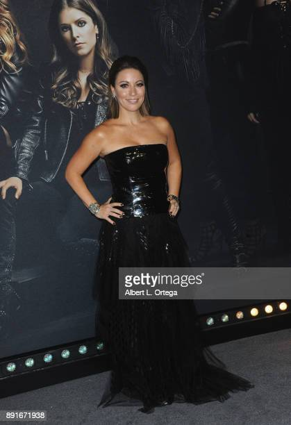 Screenwriter Kay Cannon arrives for the Premiere Of Universal Pictures' 'Pitch Perfect 3' held at The Dolby Theater on December 12 2017 in Hollywood...