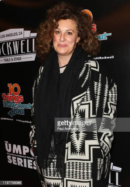Screenwriter Kirsten Kiwi Smith attends the unauthorized musical parody of '10 Things I Hate About You' at Rockwell Table and Stage on March 22 2019...