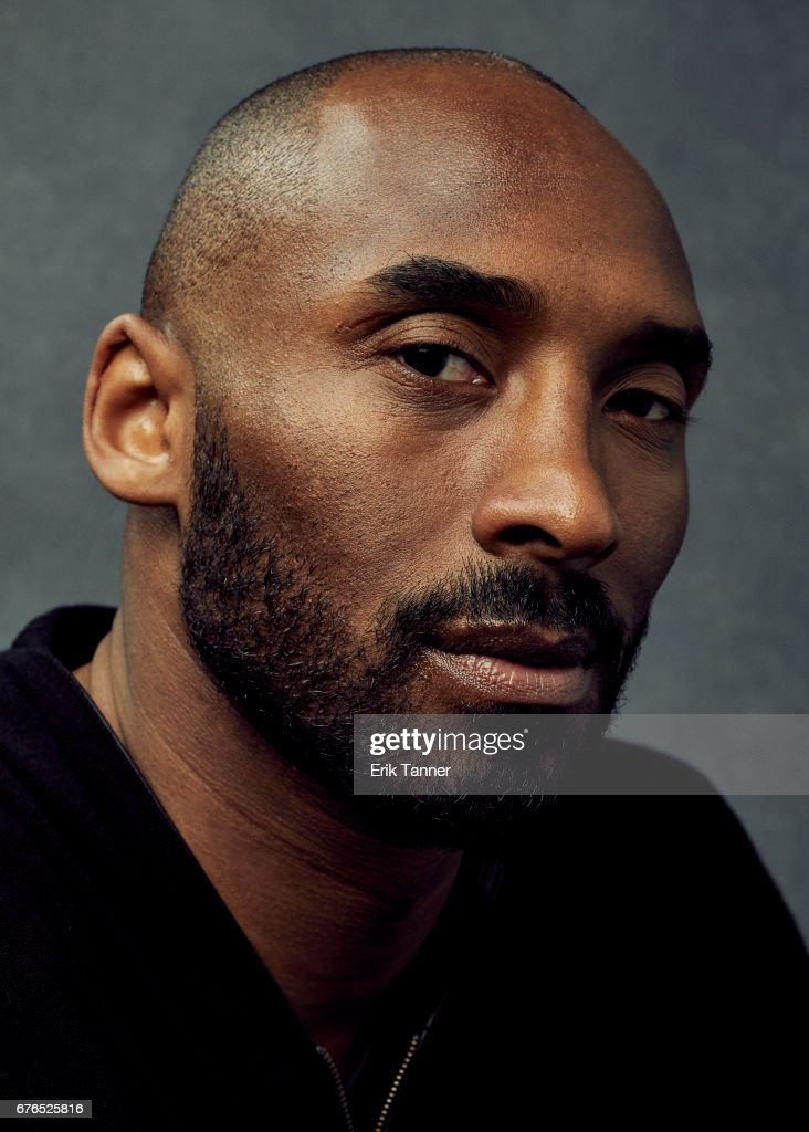 Screenwriter Kobe Bryant from 'Dear Basketball' poses at the 2017 Tribeca Film Festival portrait studio on April 22, 2017 in New York City.