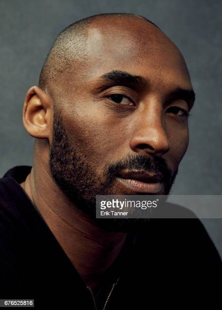Screenwriter Kobe Bryant from 'Dear Basketball' poses at the 2017 Tribeca Film Festival portrait studio on April 22 2017 in New York City