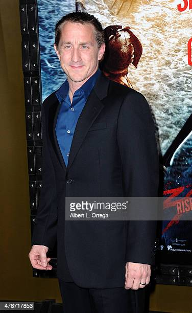 Screenwriter Kurt Johnstad arrives for the Premiere Of Warner Bros Pictures And Legendary Pictures' '300 Rise Of An Empire' held at TCL Chinese...