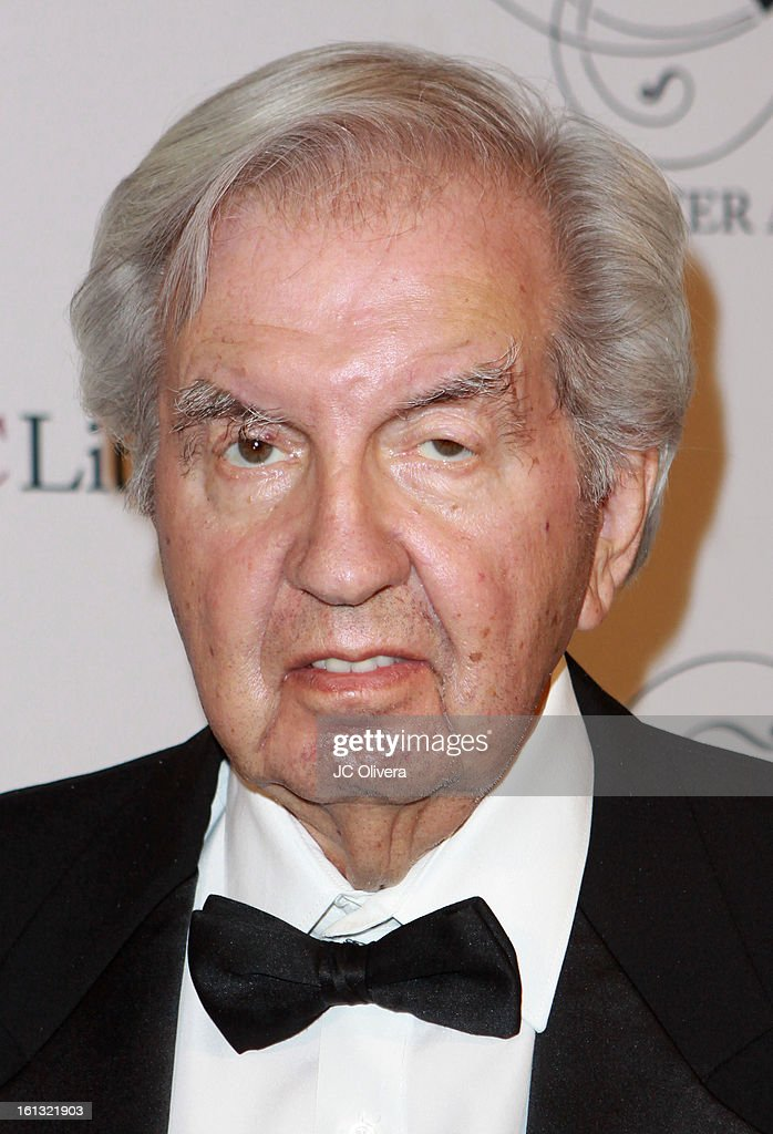 Screenwriter Larry McMurtry attends the 25th Annual Scripter Awards at Edward L. Doheny Jr. Memorial Library at University of Southern California on February 9, 2013 in Los Angeles, California.