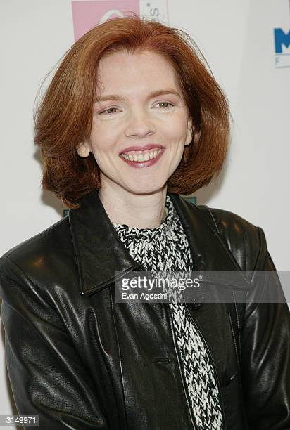 Screenwriter Laurie Craig attends the Ella Enchanted film premiere at the Clearview Beekman Theatre March 28 2004 in New York City