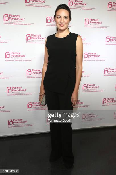 Screenwriter Lisa Joy attends the Planned Parenthood Advocacy Project Los Angeles County's Politics Sex Cocktails at NeueHouse Hollywood on November...