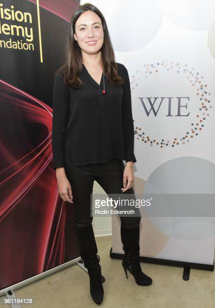 Screenwriter Lisa Joy poses for portrait at the Women in Entertainment and The Television Academy Foundation's Inaugural Women in Television Summit...