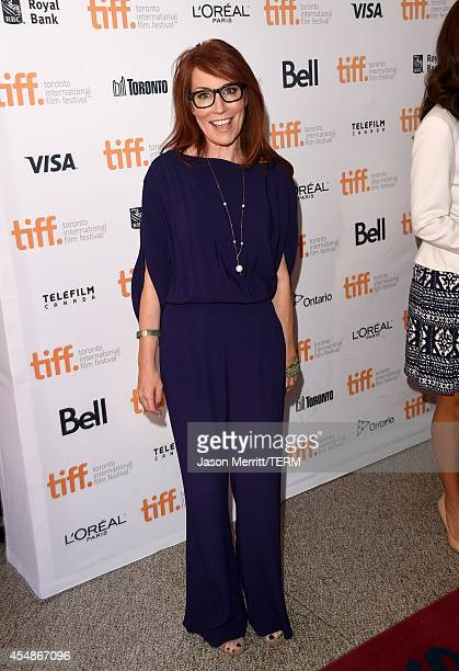 Screenwriter Margaret Nagle attends 'The Good Lie' premiere during the 2014 Toronto International Film Festival at The Elgin on September 7 2014 in...