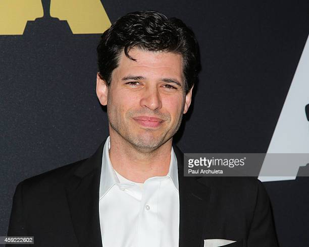 Screenwriter Max Brooks attends the 20th anniversary screening of The Shawshank Redemption at the AMPAS Samuel Goldwyn Theater on November 18 2014 in...