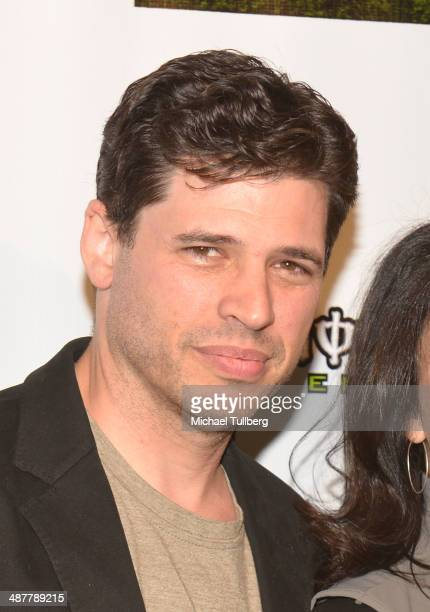 Screenwriter Max Brooks attends the Lyme Light Benefit Concert at El Rey Theatre on May 1 2014 in Los Angeles California