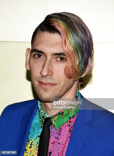 Screenwriter Max Landis arrives at the AMC Networks' 68th Primetime Emmy Awards After-Party Celebration at BOA Steakhouse on September 18, 2016 in...