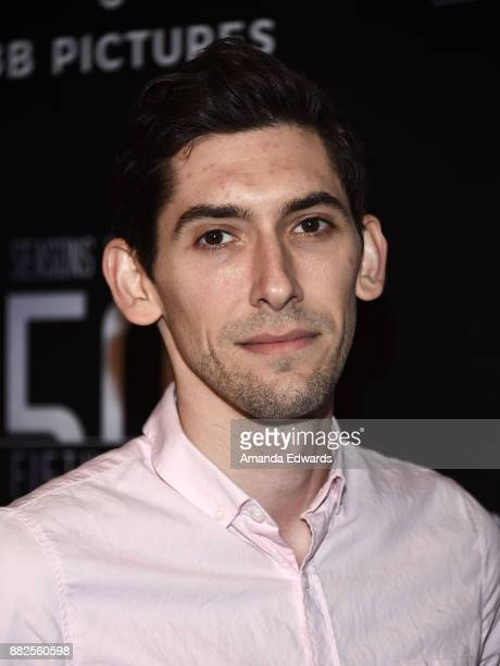 "Screenwriter Max Landis arrives at the premiere of OBB Pictures and go90's ""The 5th Quarter"" at United Talent Agency on November 29, 2017 in Beverly..."
