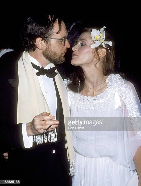 Screenwriter Michael O'Donoghue and Actress Margot Kidder attend the Presidential Premiere of 'Superman' on December 10 1978 at Eisenhower Theater at...