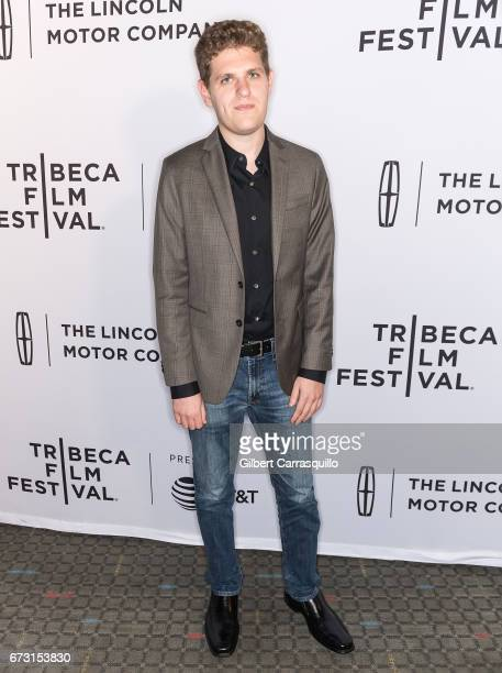 Screenwriter Mike Makowsky attends 'Take Me' Premiere during the 2017 Tribeca Film Festival at SVA Theatre on April 25 2017 in New York City