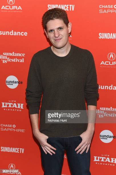 Screenwriter Mike Makowsky attends the I Think We're Alone Now Premiere during the 2018 Sundance Film Festival at Eccles Center Theatre on January 21...