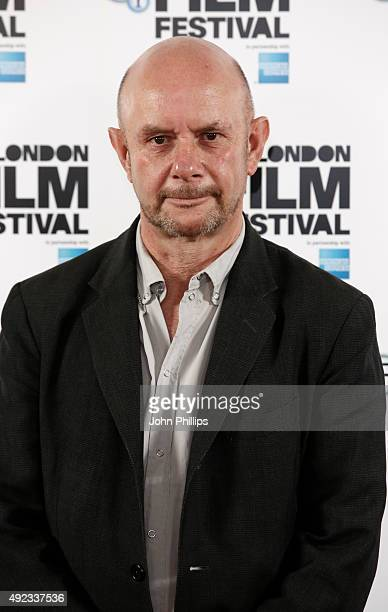 Screenwriter Nick Hornby attends a photocall for 'Brooklyn' during the BFI London Film Festival at The Mayfair Hotel on October 12 2015 in London...