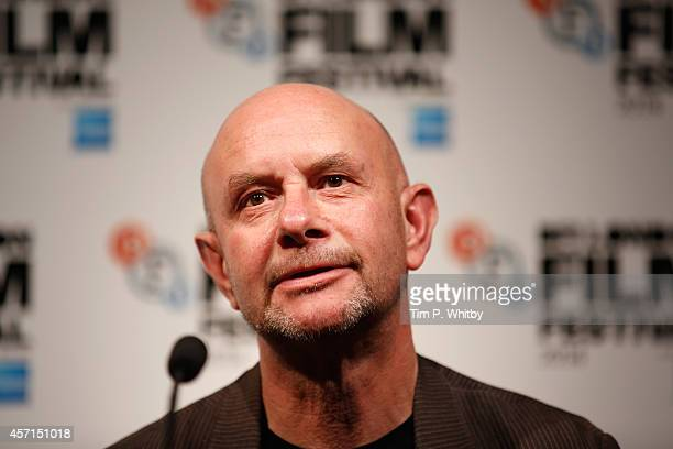 Screenwriter Nick Hornby attends the press conference of Wild during the 58th BFI London Film Festival at The Mayfair Hotel on October 13 2014 in...