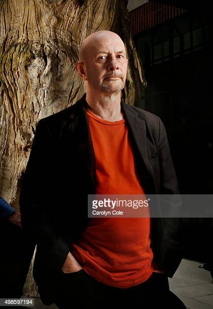 Screenwriter Nick Hornby of 'Brooklyn' is photographed for Los Angeles Times on October 4 2015 in New York City PUBLISHED IMAGE CREDIT MUST READ...