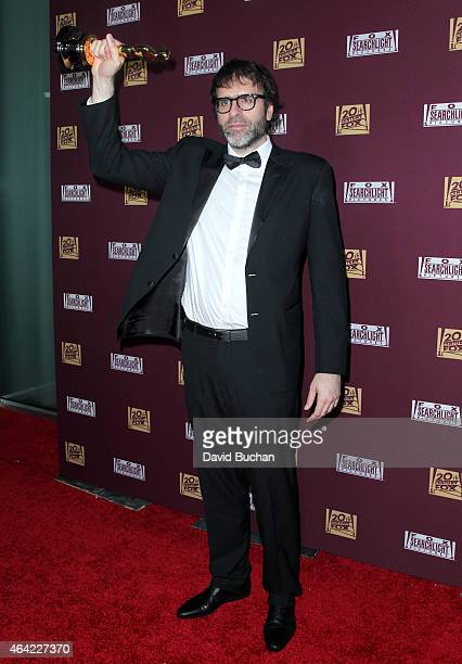 Screenwriter Nicolas Giacobone attends the 21st Century Fox and Fox Searchlight Oscar Party at BOA Steakhouse on February 22 2015 in West Hollywood...