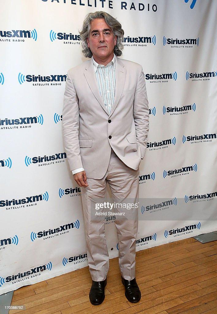 Screenwriter of 'Magic City', Mitch Glazer visits the SiriusXM Studios on June 12, 2013 in New York City.