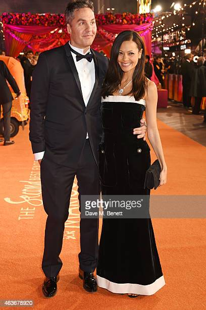Screenwriter Ol Parker and Thandie Newton attend The Royal Film Performance and World Premiere of 'The Second Best Exotic Marigold Hotel' at Odeon...
