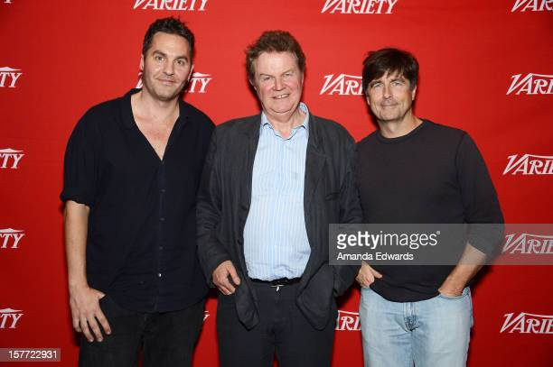 Screenwriter Ol Parker director John Madden and composer Thomas Newman attend the 2012 Variety Screening Series of Best Exotic Marigold Hotel at Mann...