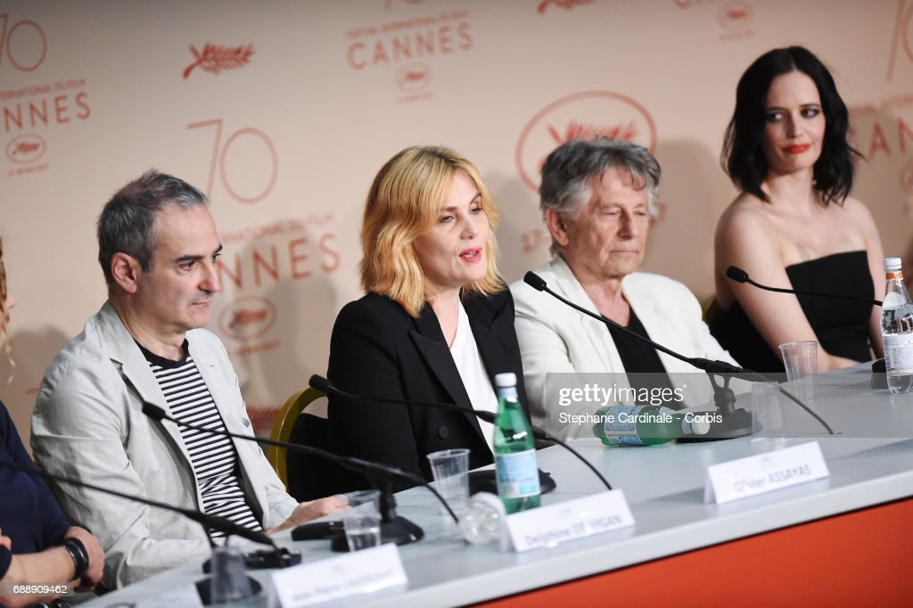 """""""Based On A True Story"""" Press Conference - The 70th Annual Cannes Film Festival : News Photo"""