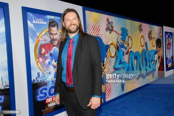 Screenwriter Pat Casey attends a Sonic The Hedgehog Special Screening at the Regency Village Theatre on February 12 2020 in Westwood California