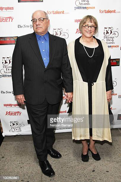 Screenwriter Paul Schrader and actress Mary Beth Hurt arrive at the 55th Annual Drama Desk Award at FH LaGuardia Concert Hall at Lincoln Center on...