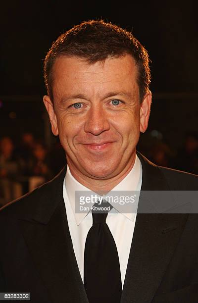Screenwriter Peter Morgan attends the premiere of 'Frost/Nixon' at the opening gala for the BFI 52nd London Film Festival held at the Odeon Leicester...