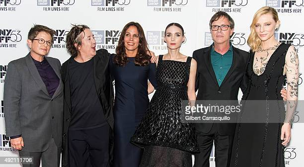 Screenwriter Phyllis Nagy film producer Christine Vachon film producer Elizabeth Karlsen actress Rooney Mara film director Todd Haynes and actress...