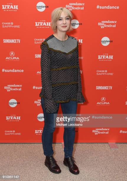 Screenwriter producer Diablo Cody attends a surprise screening of Tully during the 2018 Sundance Film Festival at Eccles Center Theatre on January 25...