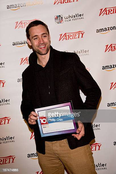 Screenwriter Reid Carolin was honored as one of Variety's 10 Screenwriters to Watch at 12th annual Whistler Film Festival Awards Brunch presented by...