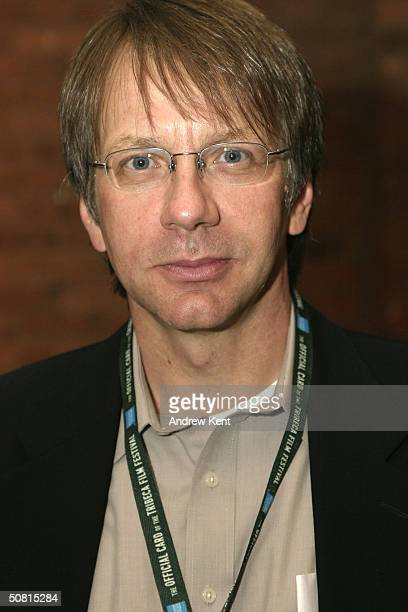 Screenwriter Ron Nyswaner poses at the Unraveling The Code Rosalind Franklin and DNA panel during the 2004 Tribeca Film Festival May 8 2004 in New...