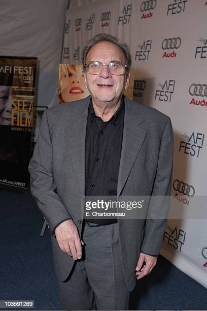 """Screenwriter Ronald Harwood at the Los Angeles Premiere of Miramax """"The Diving Bell and The Butterfly"""" at the ArcLight Theatre on November 8, 2007 in..."""