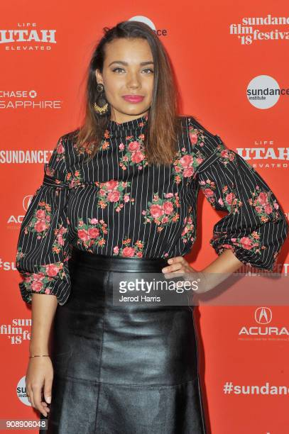 Screenwriter Samantha Tanner attends the 'A Boy A Girl A Dream' Premiere during the 2018 Sundance Film Festival at Park City Library on January 22...