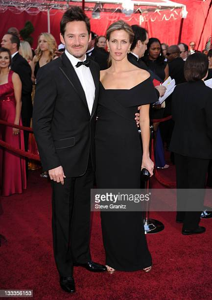 Screenwriter Scott Cooper and Jocelyne Copper arrive at the 82nd Annual Academy Awards held at the Kodak Theatre on March 7 2010 in Hollywood...