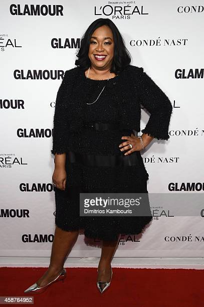 Screenwriter Shonda Rhimes attends the Glamour 2014 Women Of The Year Awards at Carnegie Hall on November 10, 2014 in New York City.
