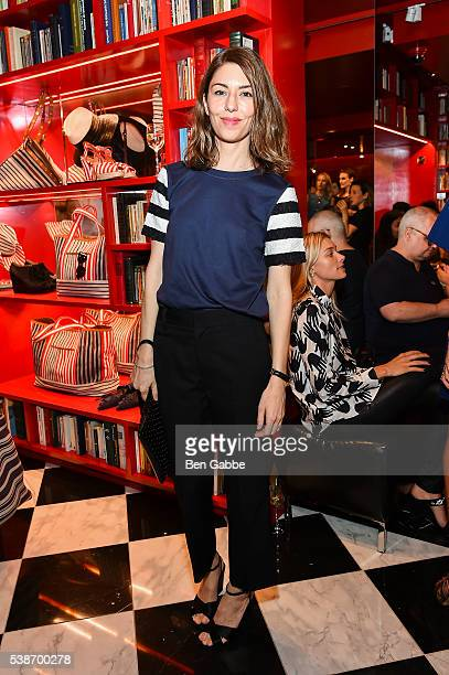Screenwriter Sofia Coppola attends the Sonia Rykiel Pre Spring 2017 Presentation at Sonia Rykiel Madison Boutique on June 7 2016 in New York City