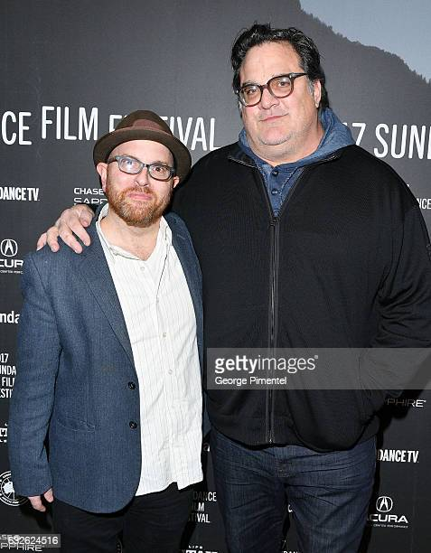 Screenwriter Stuart Ross Fink and director/producer Mark Pellington attend The Last Word Premiere at Eccles Center Theatre on January 24 2017 in Park...