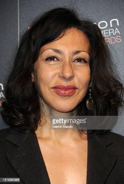 Screenwriter Yasmina Reza arrives at Hamilton Behind The Camera Awards Presented By Los Angeles Confidential Magazine at The Conga Room at LA Live on...