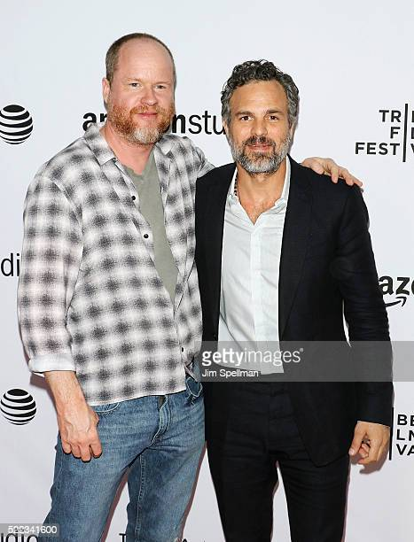 Screenwriter/Director Joss Whedon and actor Mark Ruffalo attend the 2016 Tribeca Film Festival Tibeca Talks Directors Series Joss Whedon with Mark...