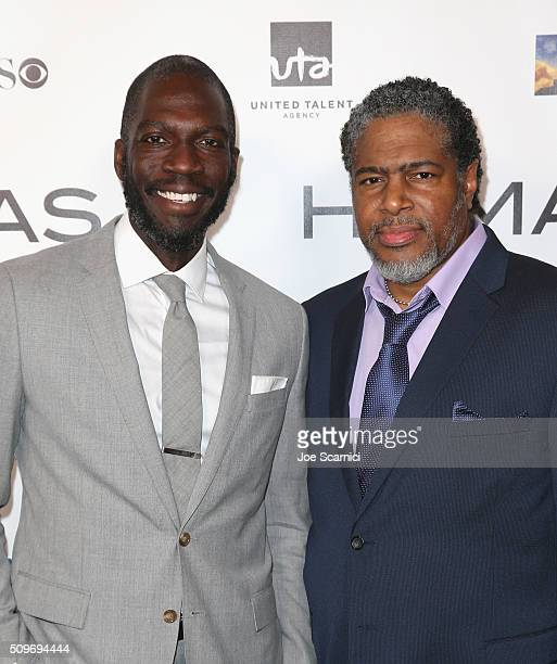 Screenwriter/Director Rick Famuyiwa finalist for 'Dope' and President of the Humanitas Awards Ali LeRoi attend the 41st Humanitas Prize Awards...