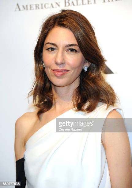 Screenwriter/director Sofia Coppola attends 2017 American Ballet Theatre Fall Gala at David H Koch Theater at Lincoln Center on October 18 2017 in...