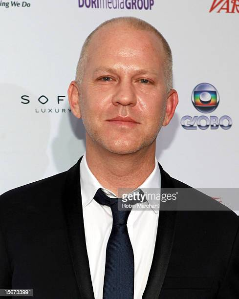 Screenwriter/director/producer Ryan Murphy attends the 40th International Emmy Awards on November 19 2012 in New York City