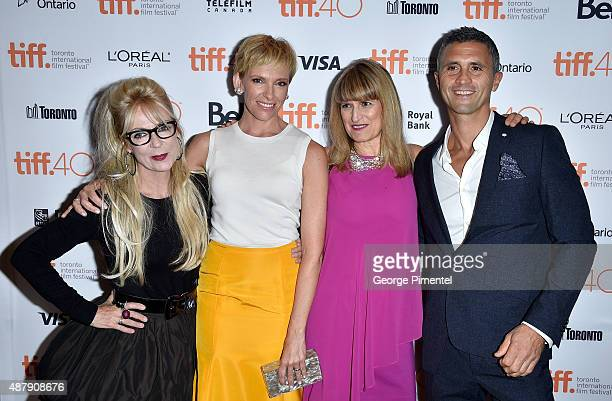 Screenwriter/executive producer Morwenna Banks actress Toni Collette director Catherine Hardwicke and executive producer Christopher Simon attend the...
