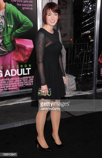 Screenwriter/producer Diablo Cody attends the Young Adult world premiere at the Ziegfeld Theatre on December 8 2011 in New York City