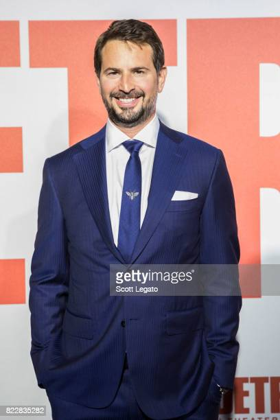 Screenwriter/Producer Mark Boal attends the Detroit world premiere at Fox Theatre on July 25 2017 in Detroit Michigan