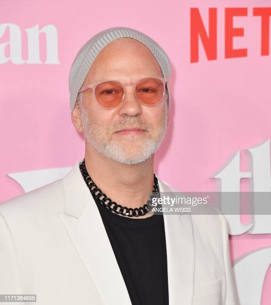 US screenwriter/producer Ryan Murphy arrives for the Netflix premiere of The Politician at the DGA theatre in New York City on September 26 2019